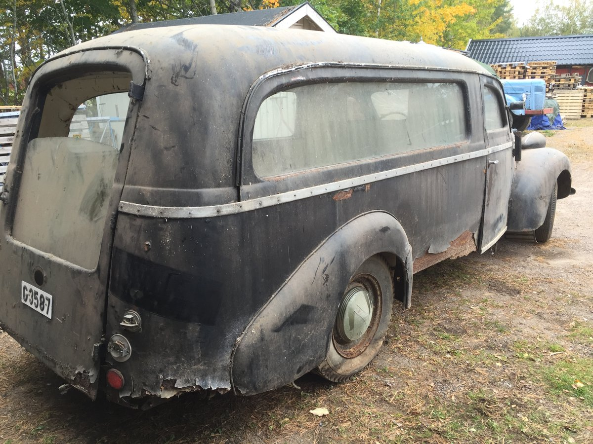 1948 Volvo PV61 Hearse PV60 For Sale (picture 4 of 6)