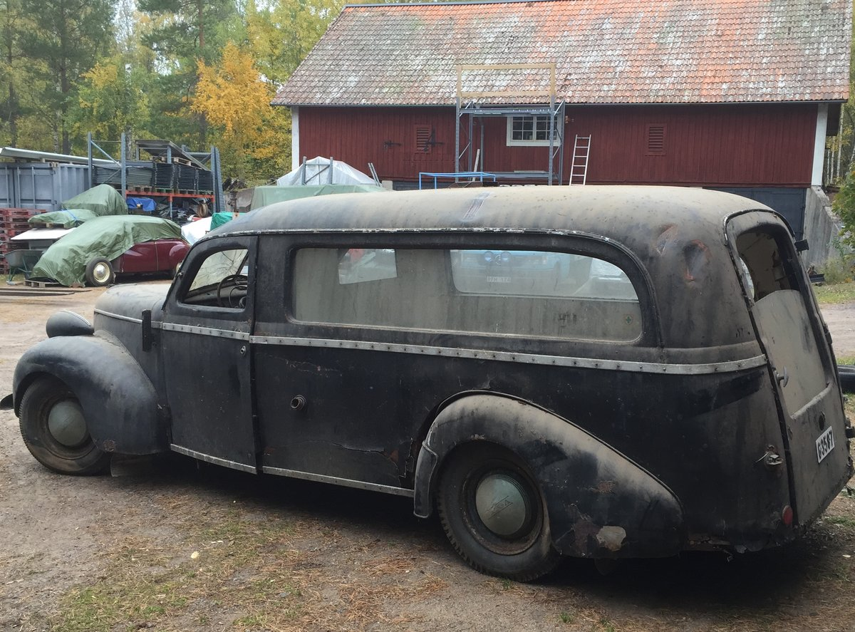 1948 Volvo PV61 Hearse PV60 For Sale (picture 5 of 6)