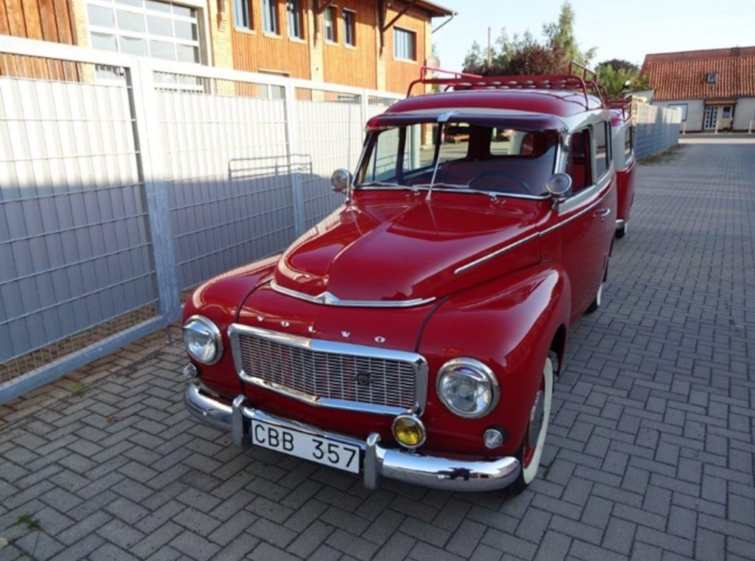1967 Volvo Duett with trailer for sale For Sale (picture 1 of 6)