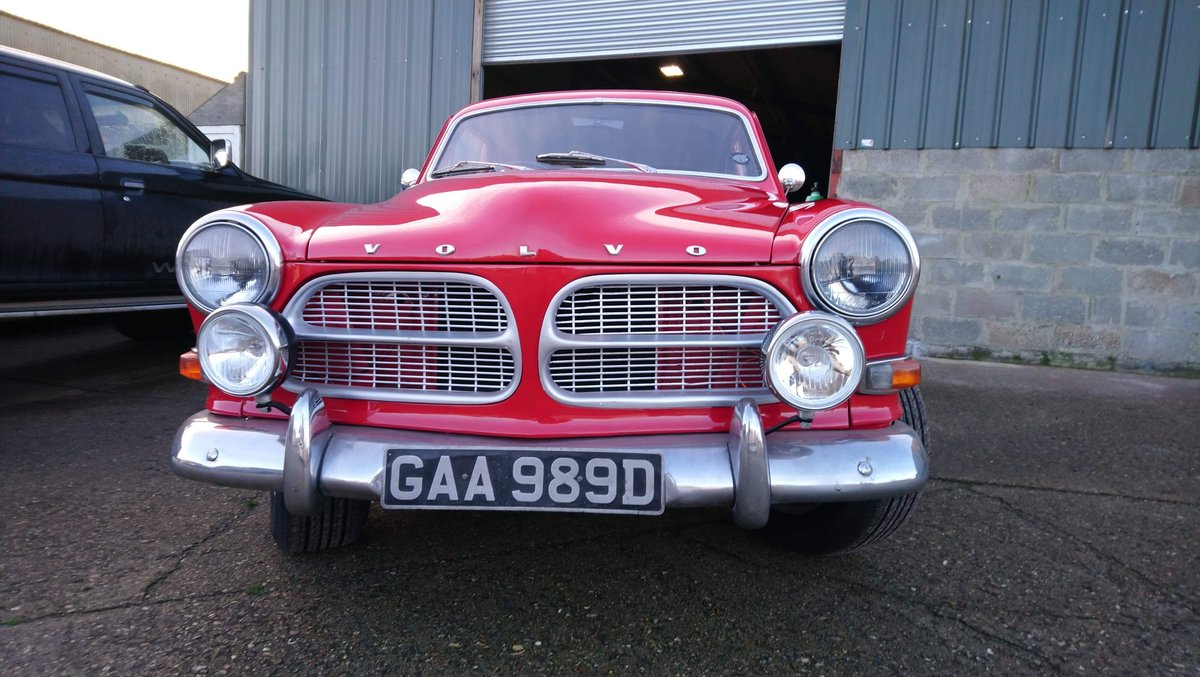 1966 Volvo Amazon - B18 twin su's with overdrive L@@K For Sale (picture 1 of 6)
