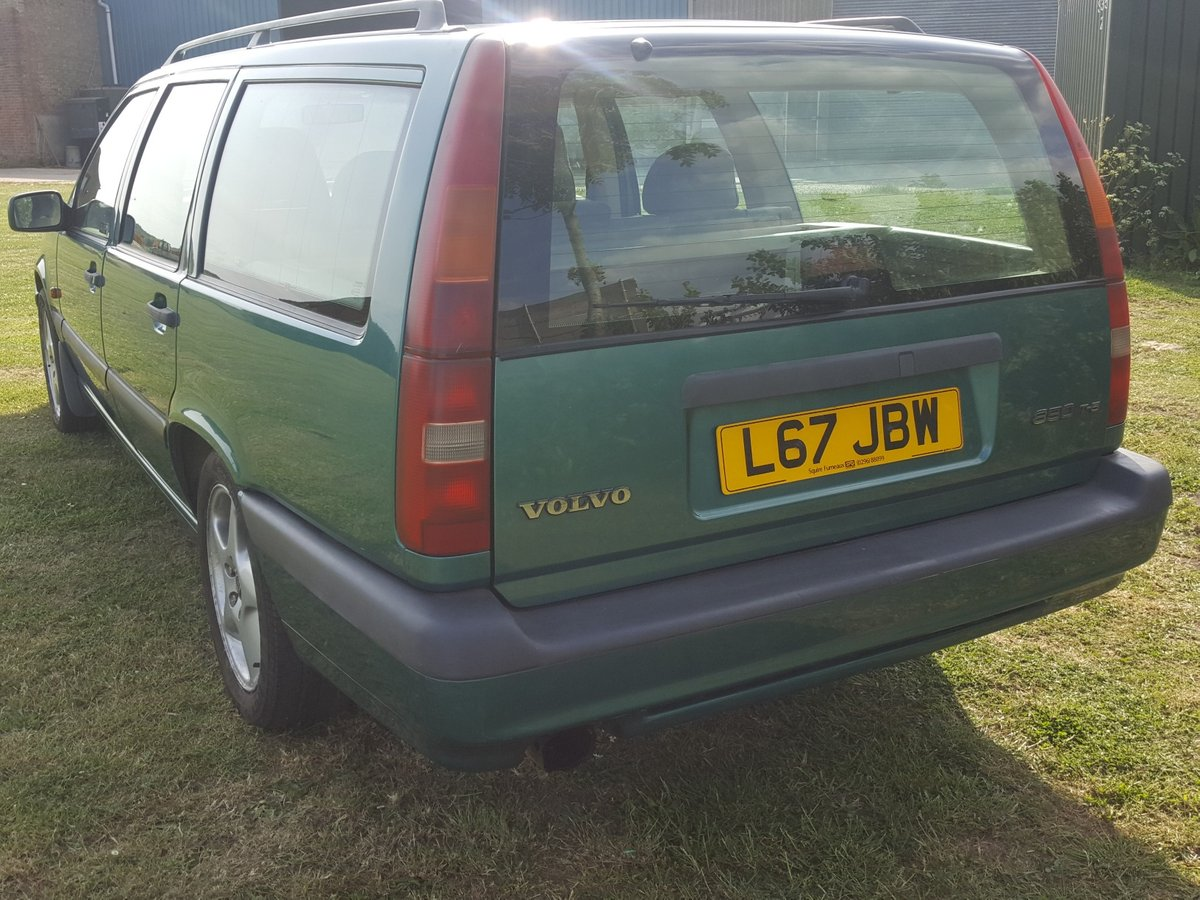 Volvo 850T5 Estate A true Survivor 1994 For Sale (picture 5 of 6)