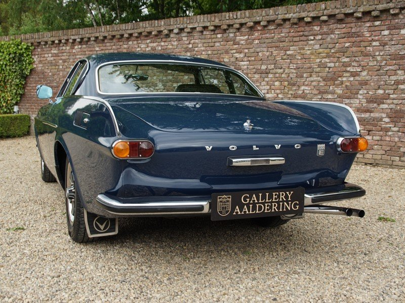 1971 Volvo P1800 E with AC and leather upholstery For Sale (picture 6 of 6)