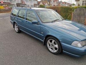 1997 Volvo V70 T5 R Reg Blue Estate For Sale