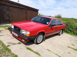 1989 Volvo 740 GL Saloon Auto One Owner 72K miles! SOLD