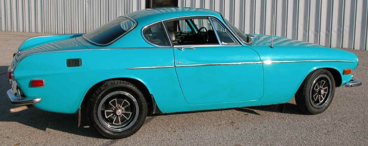 Very Good 1971 Volvo P1800E For Sale (picture 2 of 6)