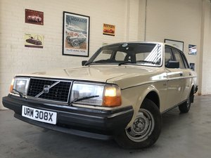 1982 VOLVO 244 DL AUTO - 2 OWNERS, LOW MILES, BARGAIN! SOLD