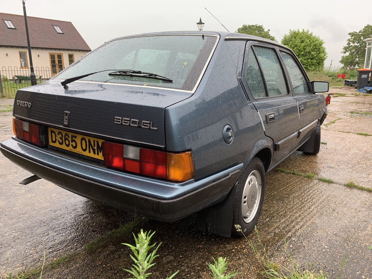 1986 Volvo 360 gl 1 owner low mileage SOLD (picture 3 of 5)