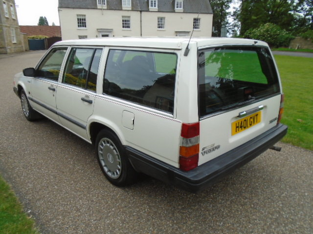 1990 Volvo 740 GL Auto Estate.  For Sale (picture 3 of 6)