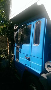 1991 '91 volvo fl6 luton removals lorry 7.5t 3container