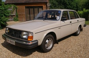 1980 Volvo 244 DL - Barons Tuesday 16th July 2019 For Sale by Auction