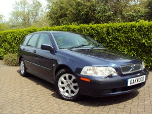 2001 A RARE LOW MILEAGE AUTOMATIC VOLVO V40 **NOW SOLD** For Sale