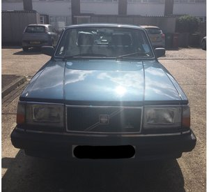 1990 Volvo 240 with 81,000 miles For Sale