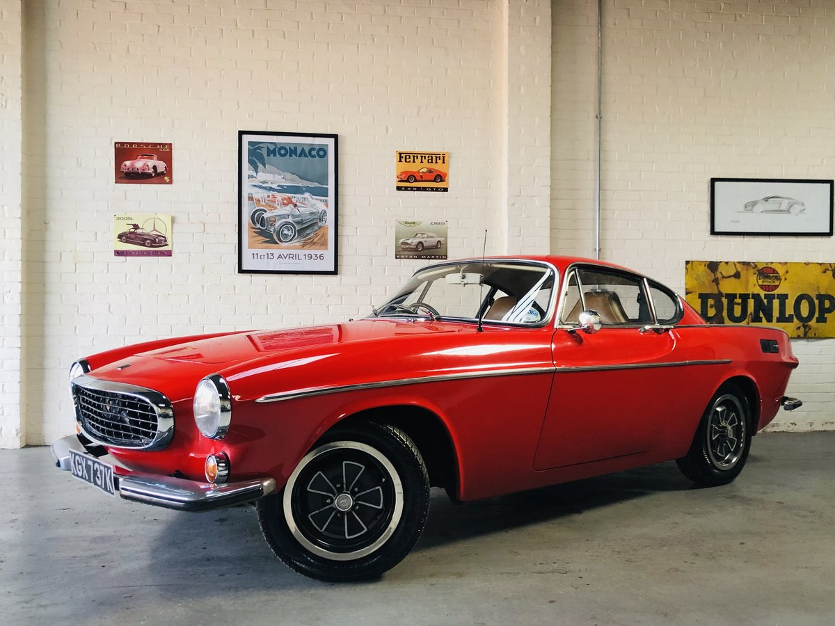 1971 VOLVO P1800 P1800E COUPE  - EXCELLENT HISTORY, VALUE SOLD (picture 1 of 6)