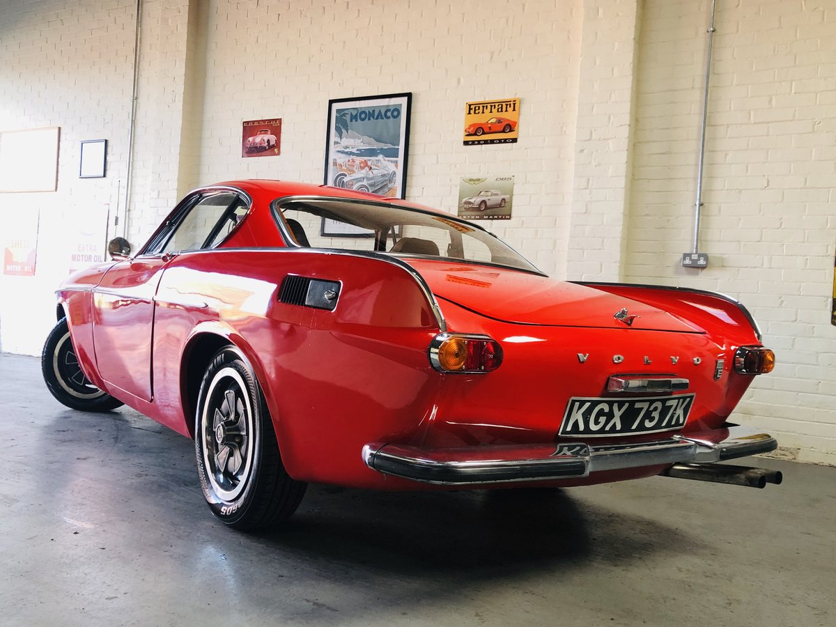 1971 VOLVO P1800 P1800E COUPE  - EXCELLENT HISTORY, VALUE SOLD (picture 2 of 6)