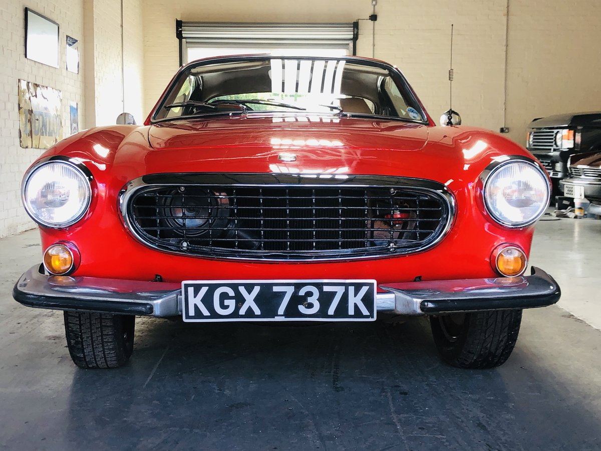 1971 VOLVO P1800 P1800E COUPE  - EXCELLENT HISTORY, VALUE For Sale (picture 4 of 6)
