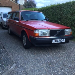 1989 Volvo 245 DL Estate, 74K miles only