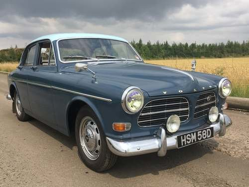 1966 Volvo Amazon 121 at Morris Leslie Auction 17th August SOLD by Auction (picture 1 of 6)