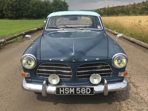 1966 Volvo Amazon 121 at Morris Leslie Auction 17th August SOLD by Auction (picture 3 of 6)