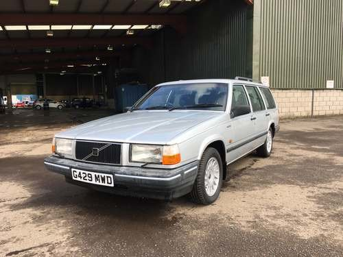 1989 Volvo 740 Turbo Diesel at Morris Leslie Auction 17th August SOLD by Auction (picture 1 of 6)