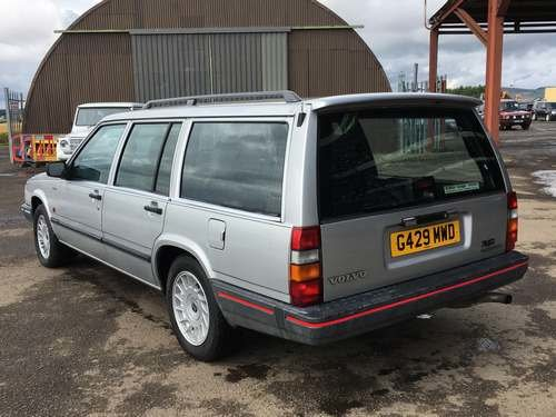 1989 Volvo 740 Turbo Diesel at Morris Leslie Auction 17th August SOLD by Auction (picture 2 of 6)