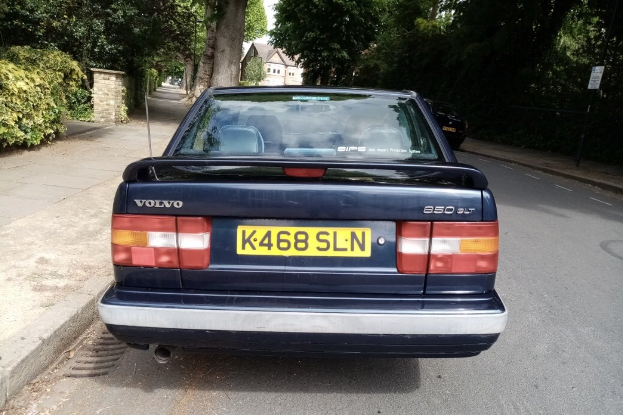 1993 Volvo With Rare 5 Speed Manual G Beautiful Classic For Sale (picture 3 of 5)