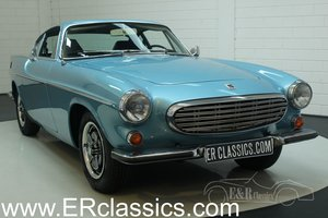 Volvo P1800 E 1972 overdrive, Light Blue Metallic For Sale
