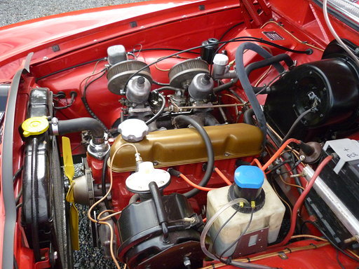 1966 Volvo Amazon - B18 twin su's with overdrive L@@K For Sale (picture 6 of 6)