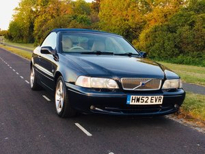 2002 Volvo C70 2.0 Convertible For Sale
