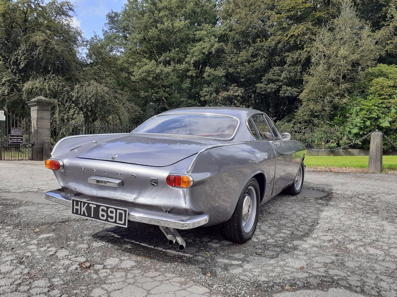 VOLVO P1800S SILVER For Sale (picture 1 of 6)