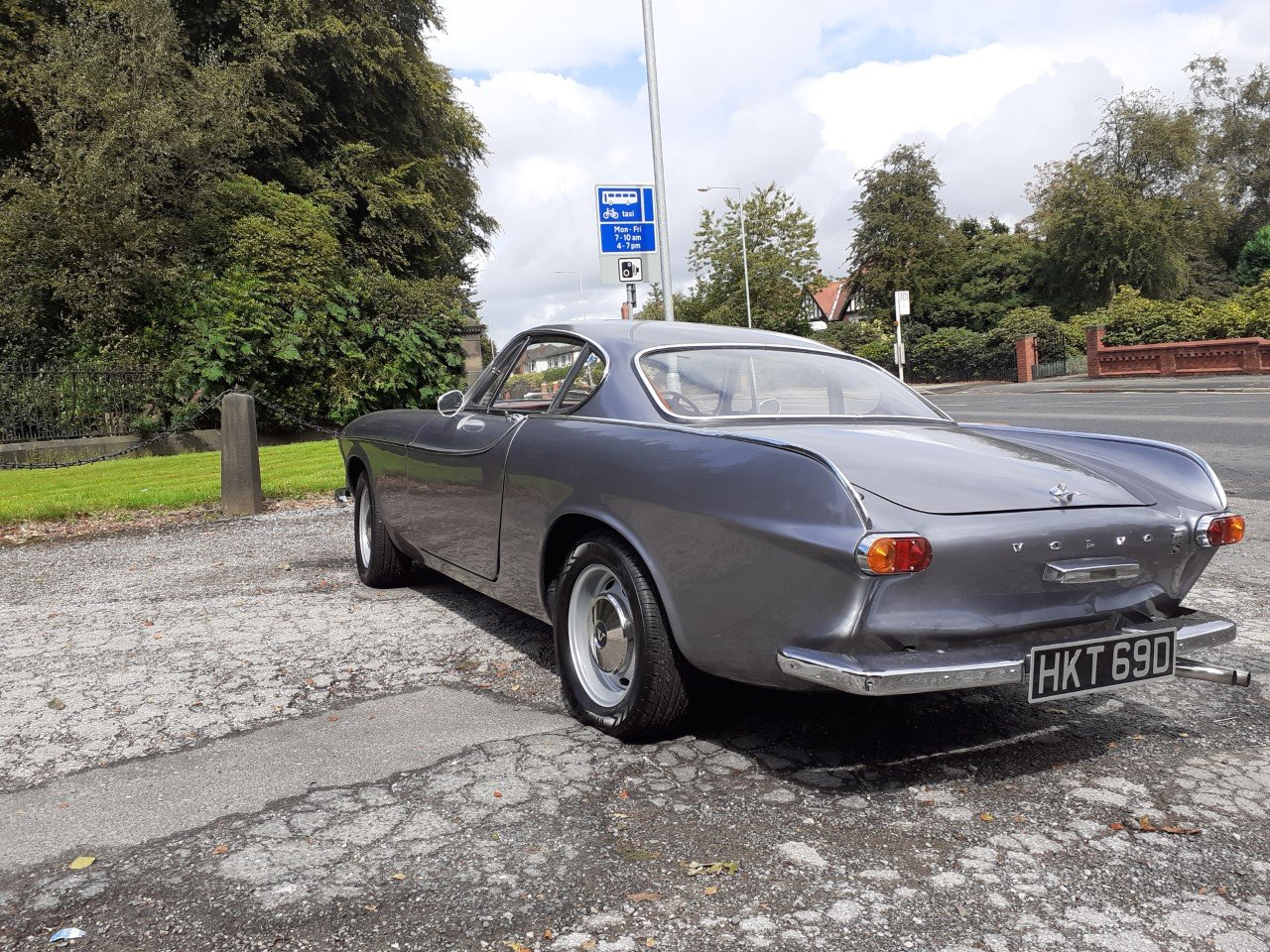 VOLVO P1800S SILVER For Sale (picture 4 of 6)