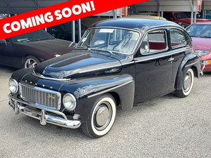 1962 Volvo PV544 Sport = clean Black driver coming soon $obo
