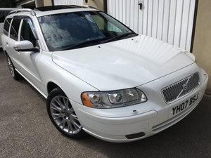 2007 07 Volvo V70 2.4 Automatic, just 54k miles, £270 tax