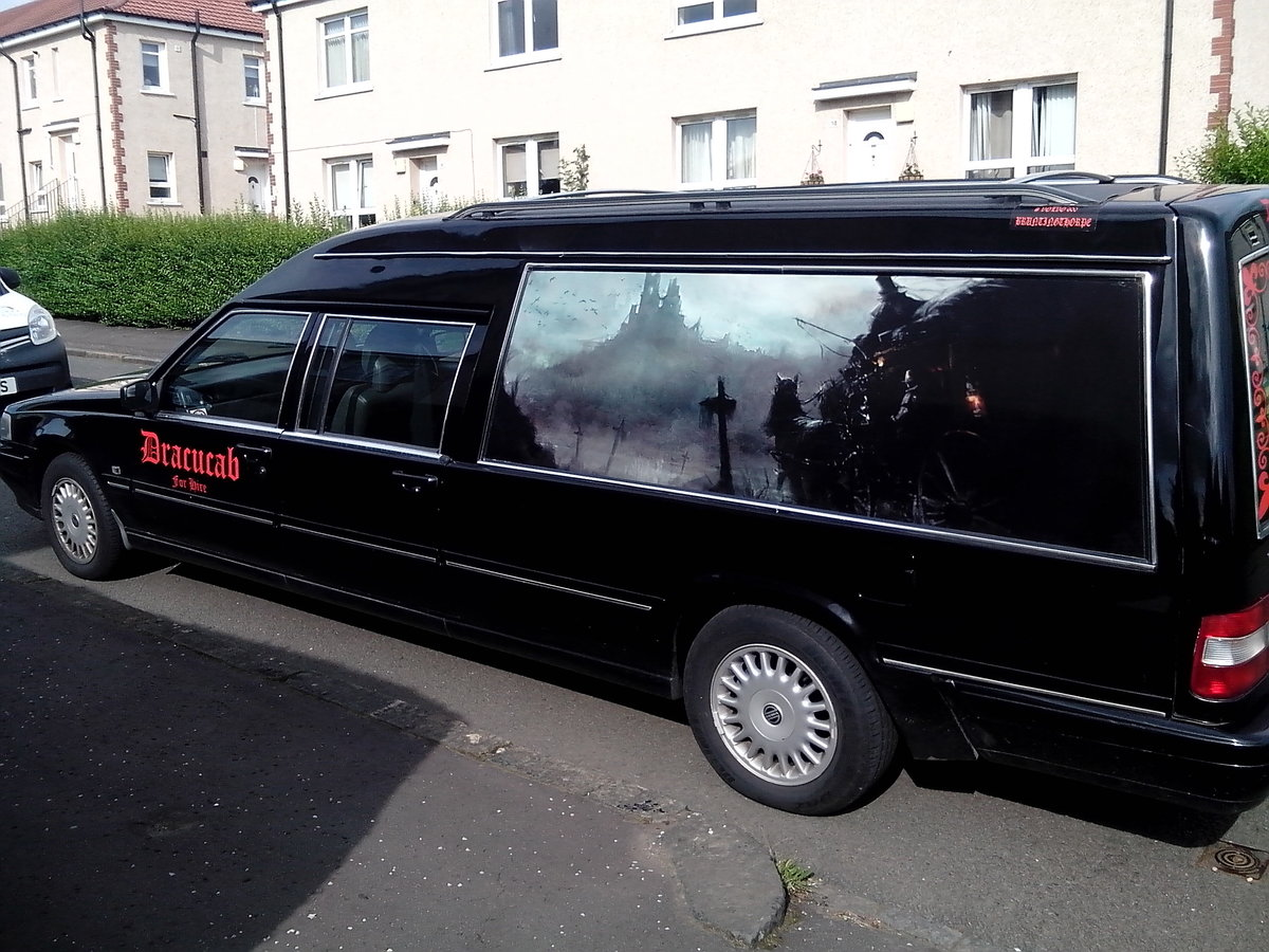 1998 Volvo 960 Hearse Limo For Sale (picture 3 of 6)