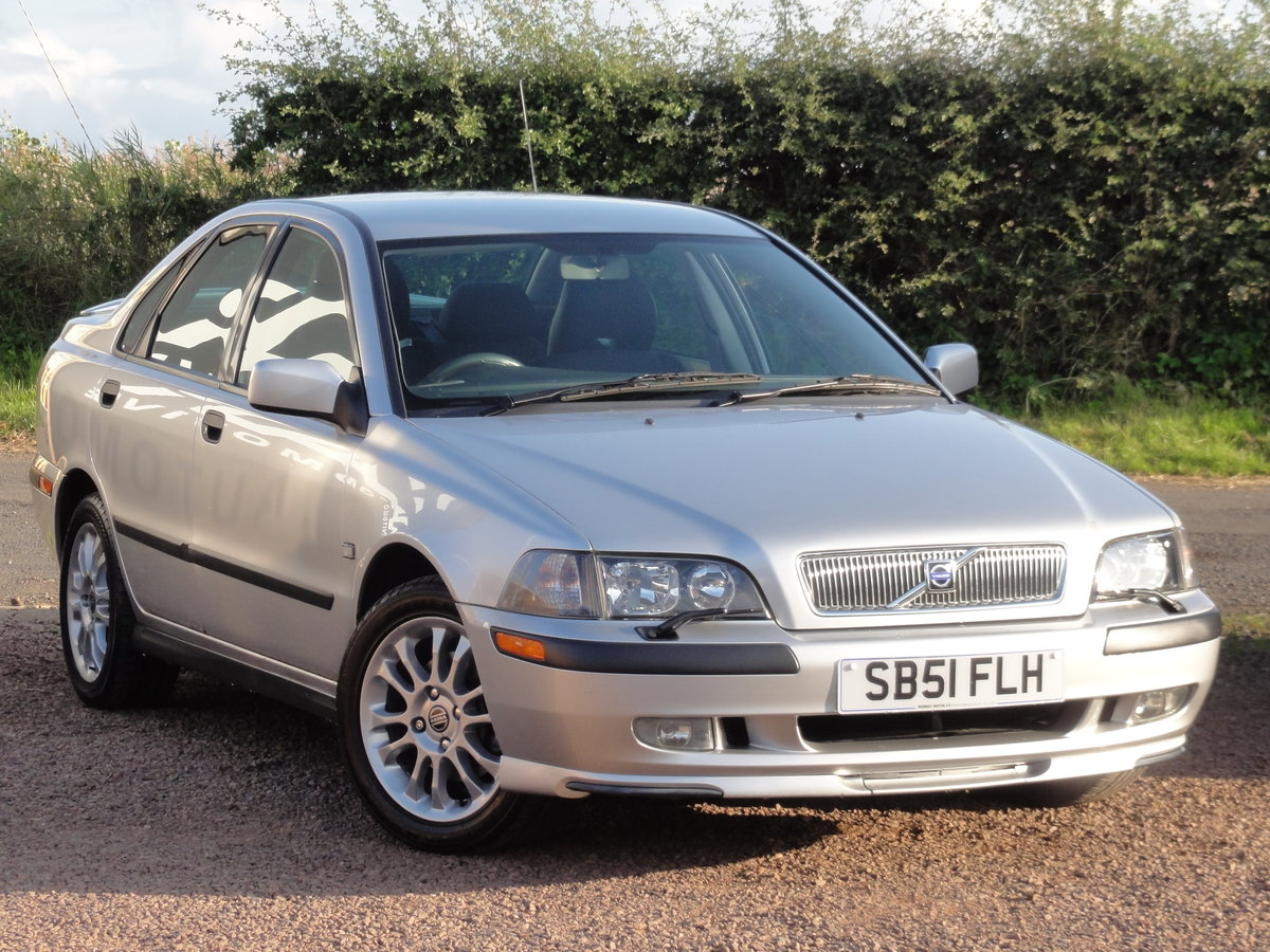 Volvo S40 S 1.8 Saloon, 2002 / 51 Reg, Only 24k Miles SOLD (picture 1 of 6)