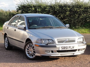 Volvo S40 S 1.8 Saloon, 2002 / 51 Reg, Only 24k Miles SOLD