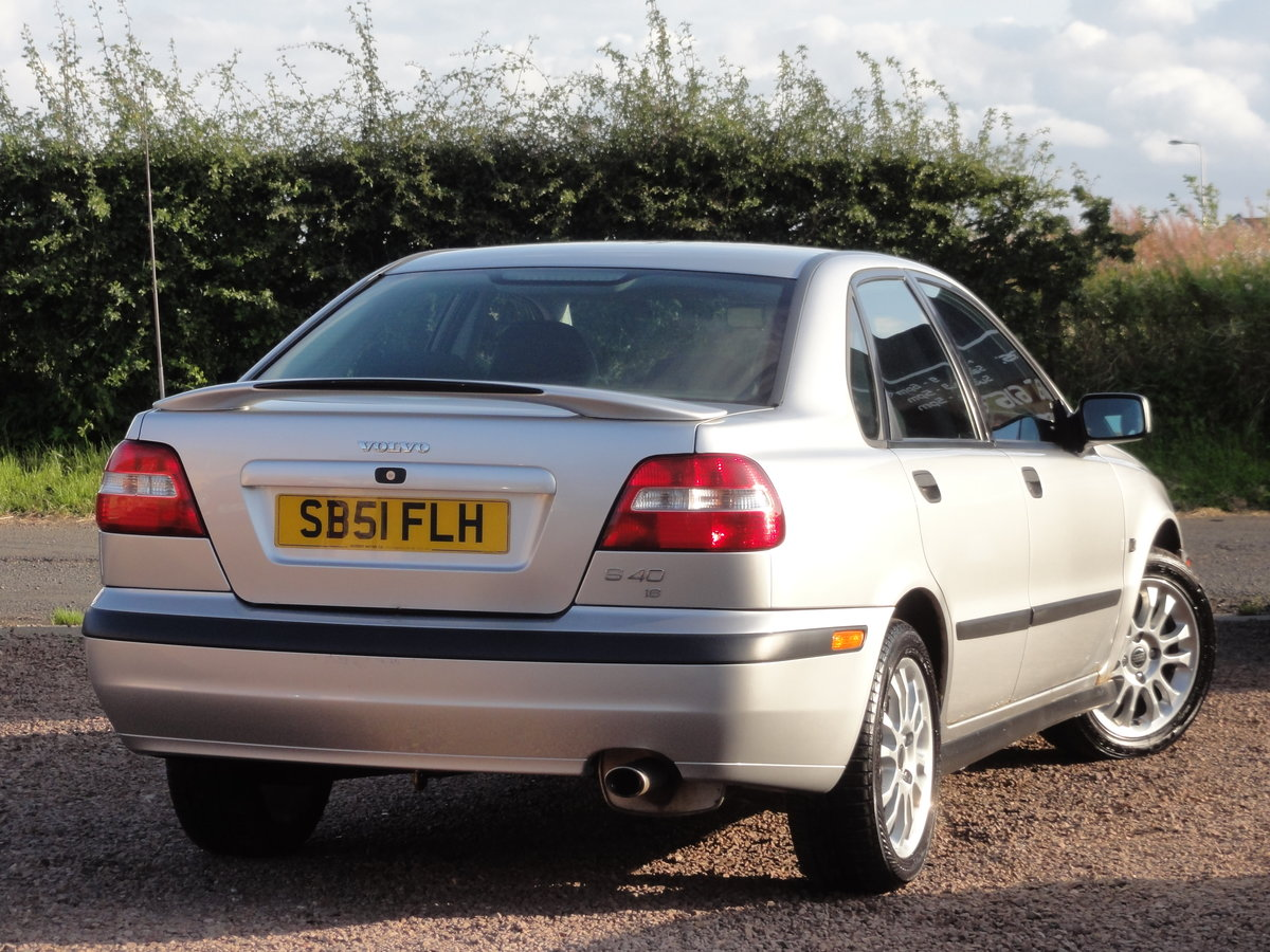 Volvo S40 S 1.8 Saloon, 2002 / 51 Reg, Only 24k Miles SOLD (picture 3 of 6)