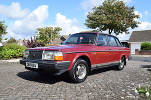 1986 Volvo 240GL - 2.3l, 5 speed sedan SOLD