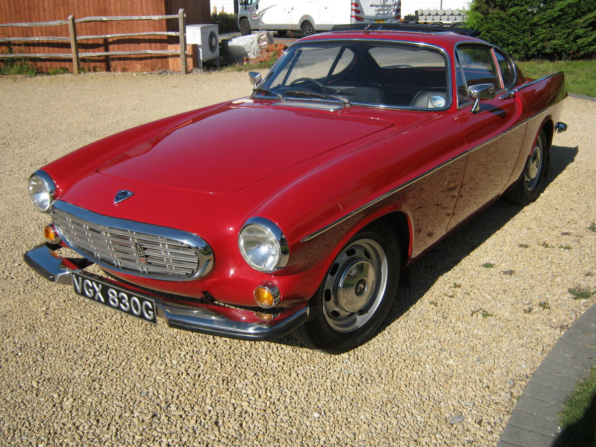 1969 VOLVO P1800S COUPE. 2.0 LITRE/CARBS MODEL. For Sale (picture 2 of 6)