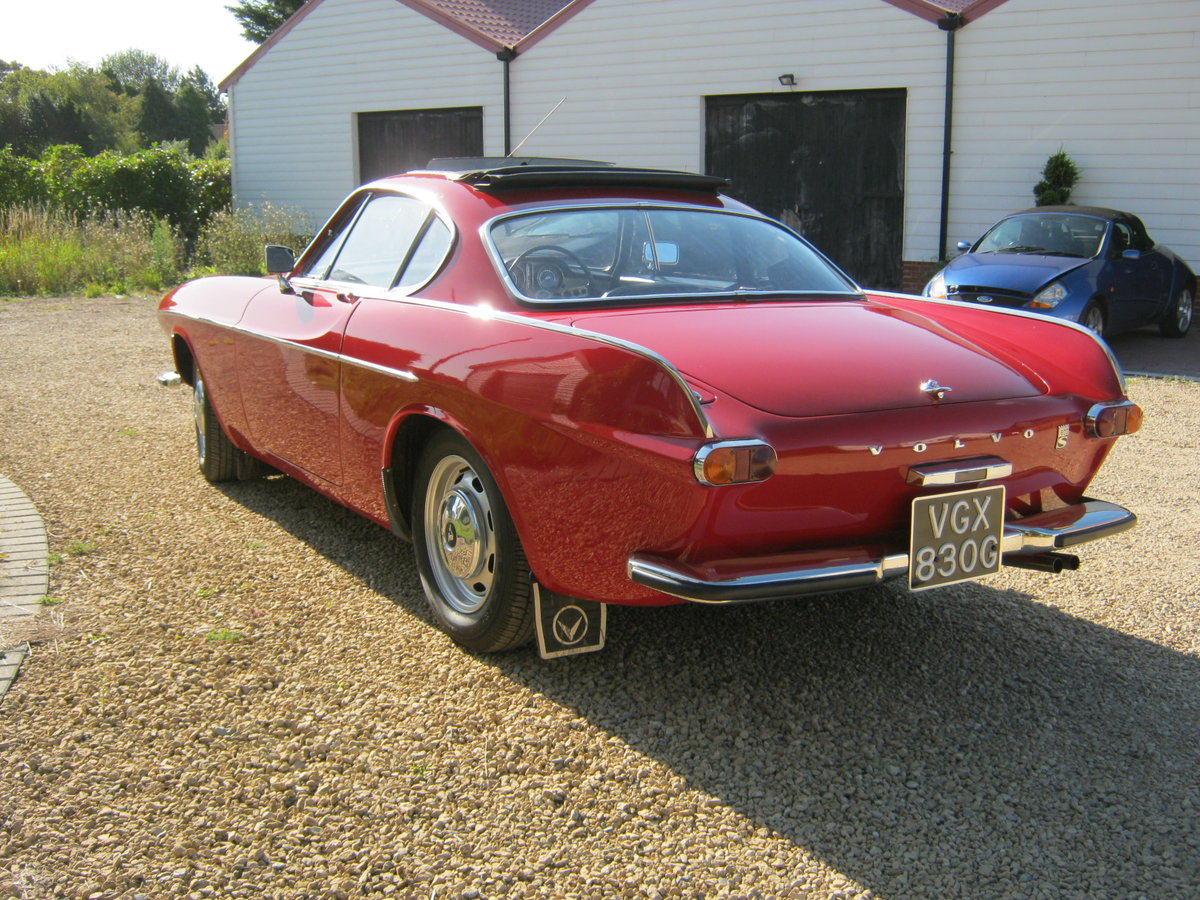 1969 VOLVO P1800S COUPE. 2.0 LITRE/CARBS MODEL. For Sale (picture 3 of 6)