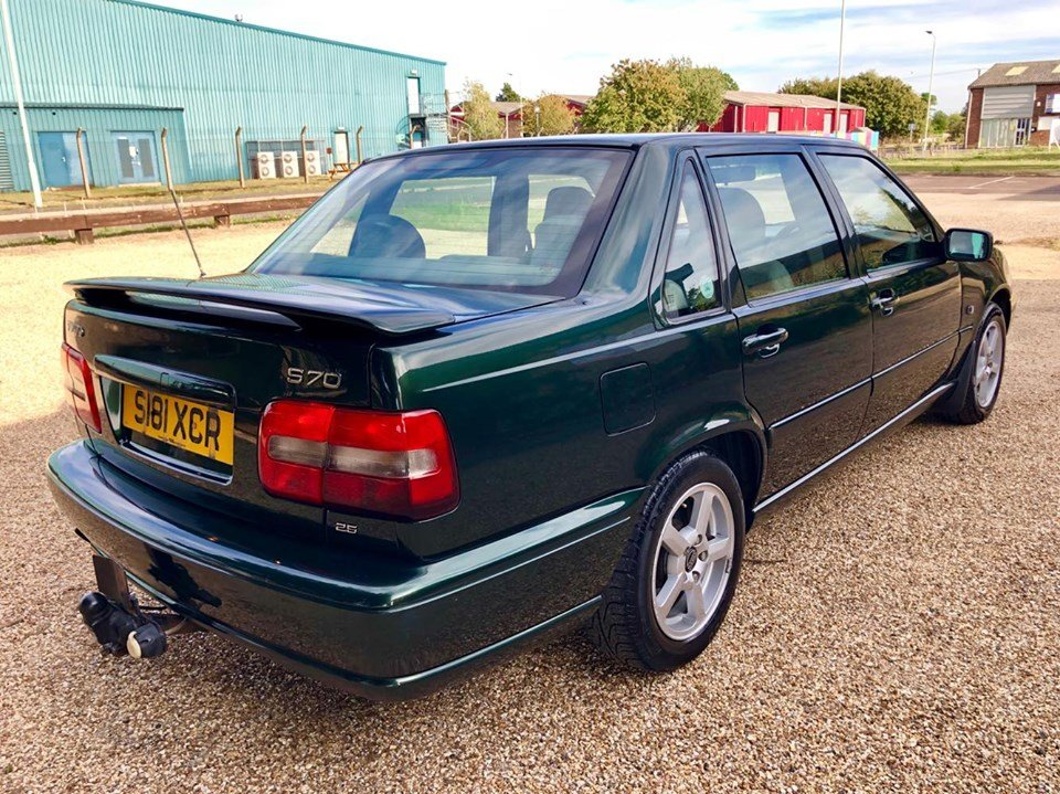 1999 Volvo S70 2.5 5 Cylinder [168 BHP] Automatic For Sale (picture 4 of 6)