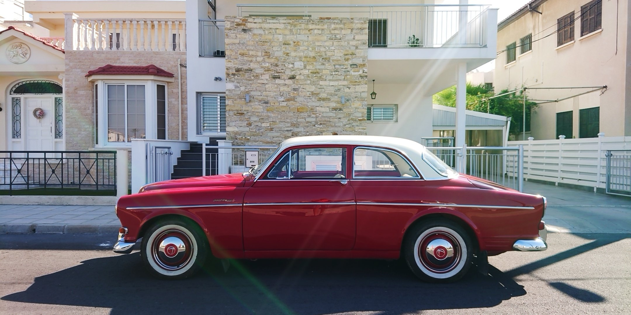 1964 Volvo Amazon 122s coupe b18 SOLD (picture 3 of 6)