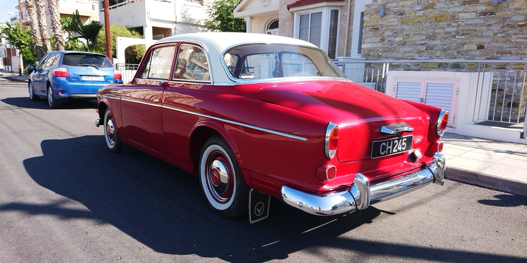 1964 Volvo Amazon 122s coupe b18 SOLD (picture 4 of 6)