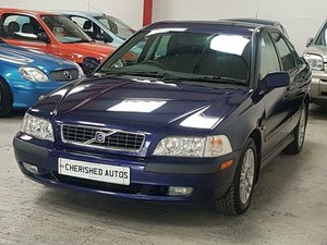 2003 VOLVO S40 2.0 S AUTOMATIC *GENUINE 38,000 MILES*VOLVO S/HIS For Sale