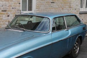 1972 volvo p1800 es blue metallic
