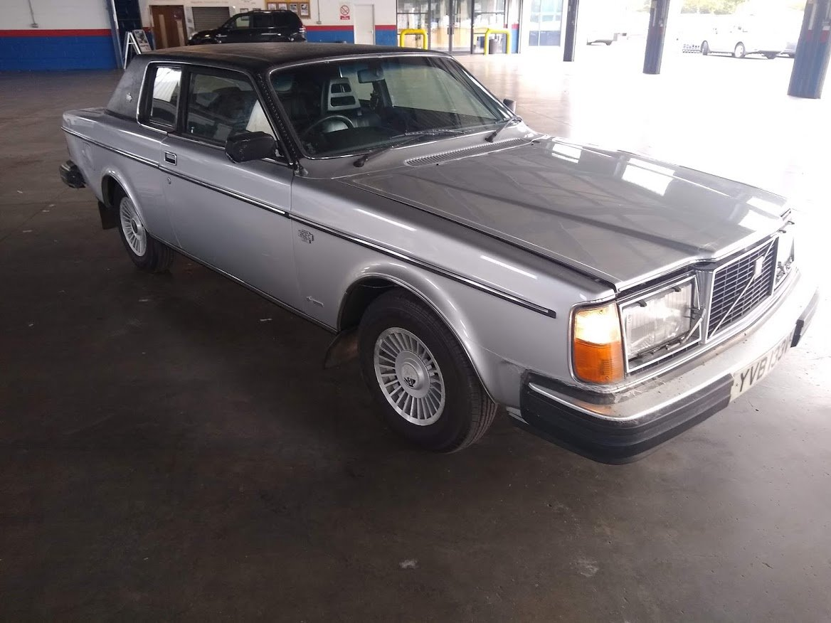 1979 Volvo 262 Coupe Auto 20,000 miles for Auction 16th/17th July SOLD by Auction (picture 2 of 6)