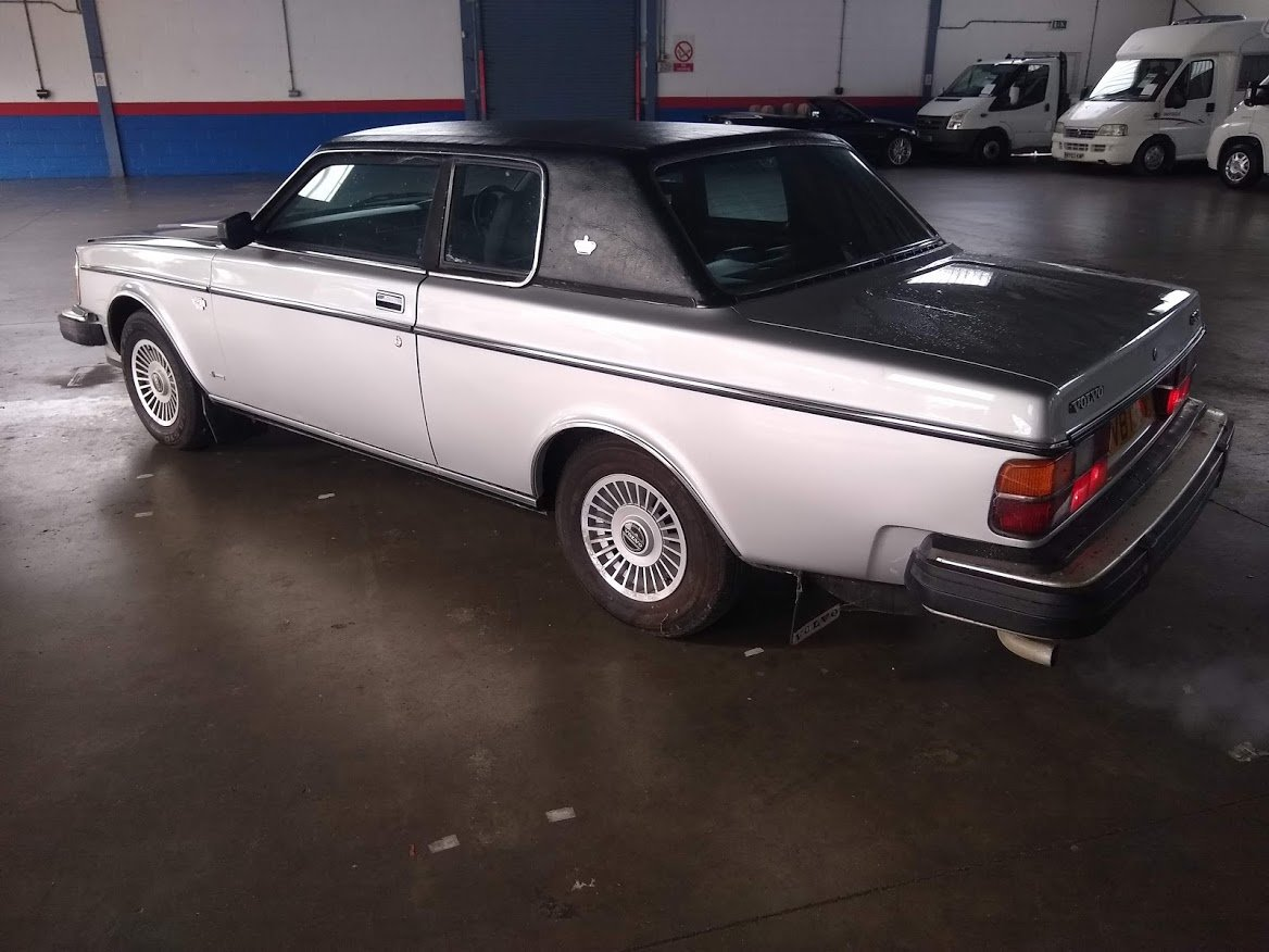 1979 Volvo 262 Coupe Auto 20,000 miles for Auction 16th/17th July SOLD by Auction (picture 5 of 6)