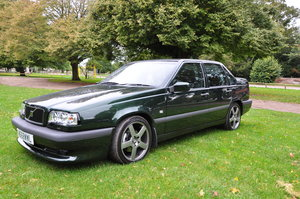 1995 One of the few remaining iconic Volvo 850 T5R's