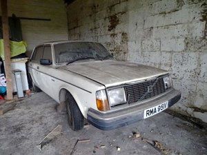 1980 Volvo 244 DL For Sale by Auction