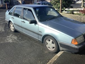 1989 Volvo 440 GLT garage find one owner from new For Sale