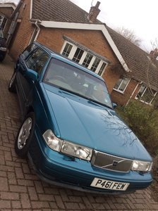 1996 Volvo estate with hand controls